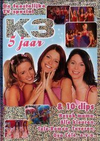Cover K3 - 5 jaar [DVD]